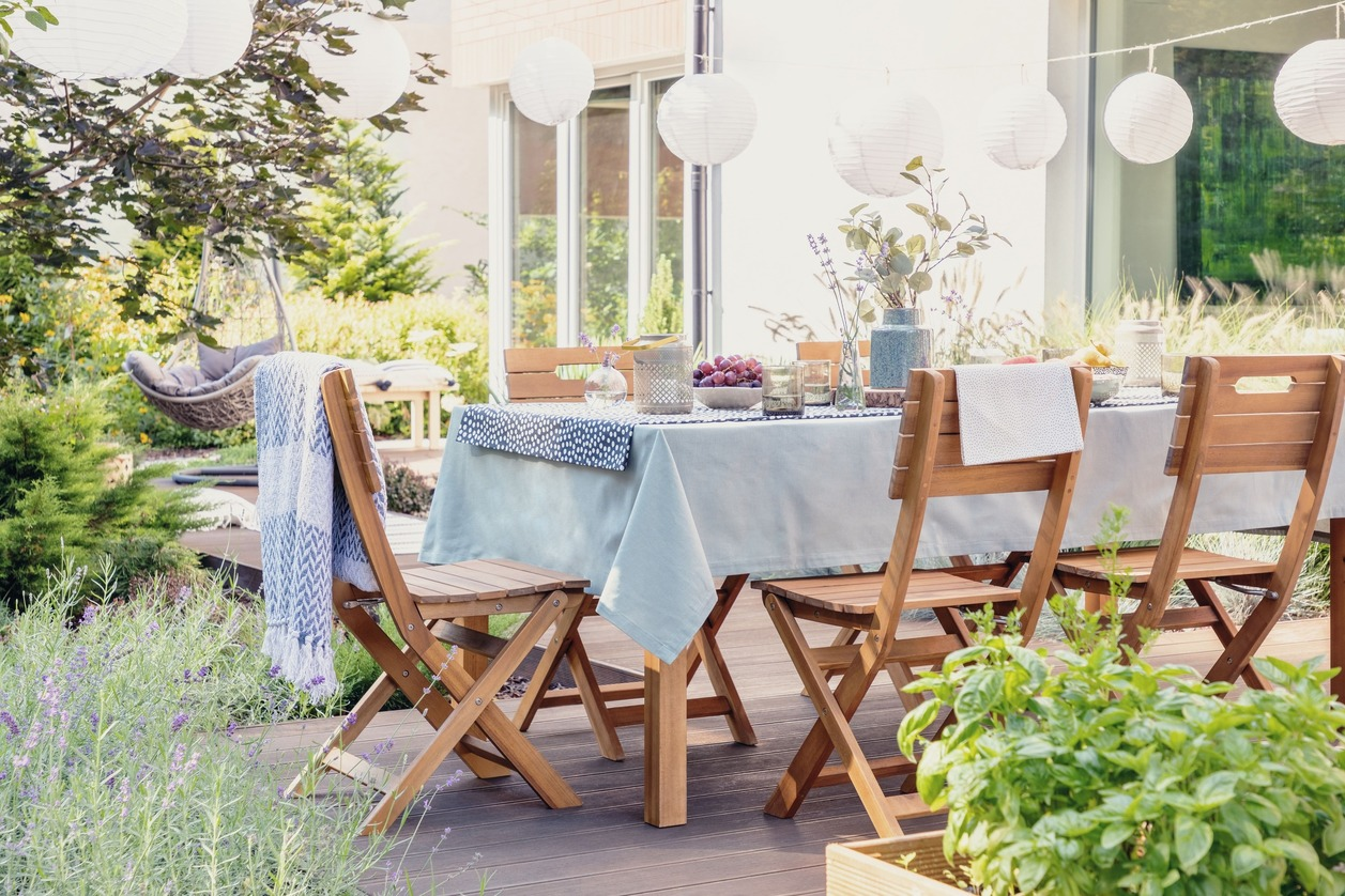 Wooden Outdoor Furniture Sets