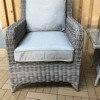 Alexandra 3 Piece Lounge Set - Grey/
