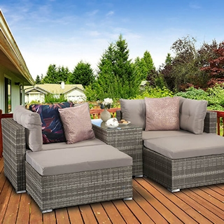 Harper Stackable Sofa Set - Grey