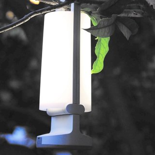 Dragonfly Portable Solar Light - Silver