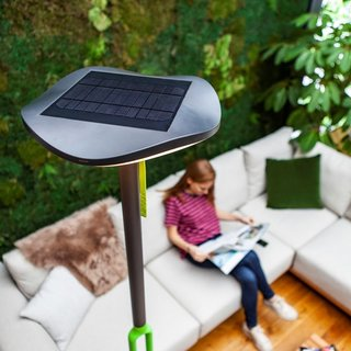 Poppy LED Portable Solar Light With Bluetooth Speaker