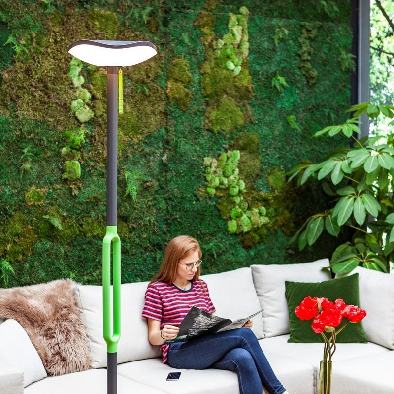 Poppy LED Portable Solar Light With Bluetooth Speaker/