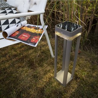 Table Cube Portable Solar Stand Light