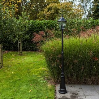 London LED Solar Garden Lamp Post