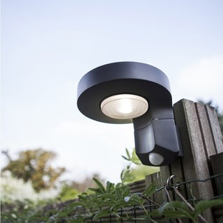 Diso LED Solar Wall Light With PIR