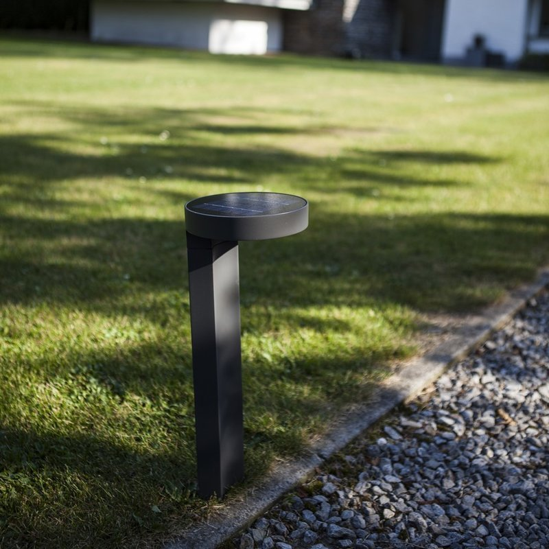 Diso LED Solar Bollard Light/