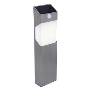 Solstel LED Solar Bollard Light With PIR