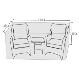 Cover To Fit 3 Piece Lounge Set (Sarah/Mia)