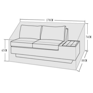 Mauritius Daybed Cover