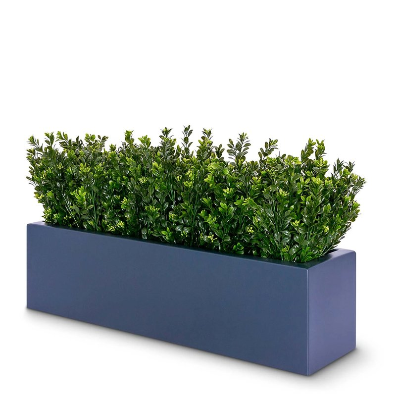 Artificial Boxwood Bushes Trough/