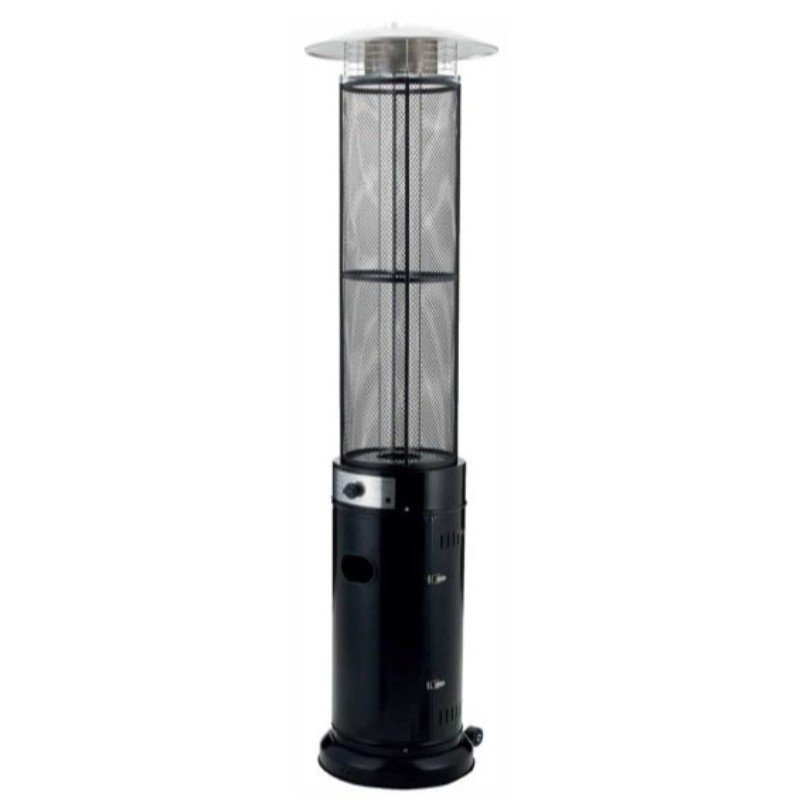 Emporio Flame Patio Heater - Black/