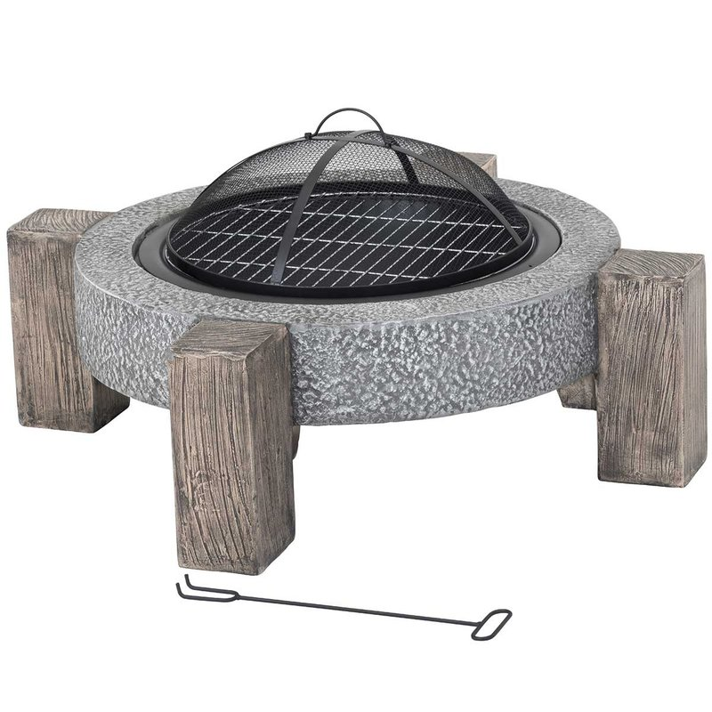 Calida MGO Fire Pit & Cooking Grill/