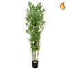Artificial Oriental Bamboo 240cm with Natural Tree Trunk (Fire Retardant)/