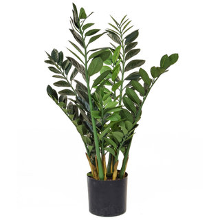 Artificial Zamio Zami Base Tree Plant 90cm (Fire Retardant)