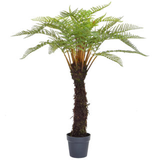 Artificial Fern Tree in Black Pot 120cm