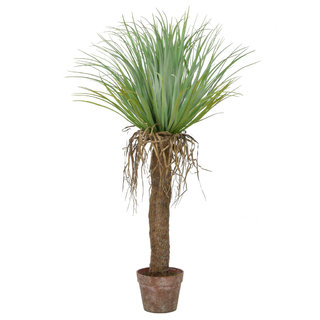 Artificial Cycas Palm in Brown Pot 95cm