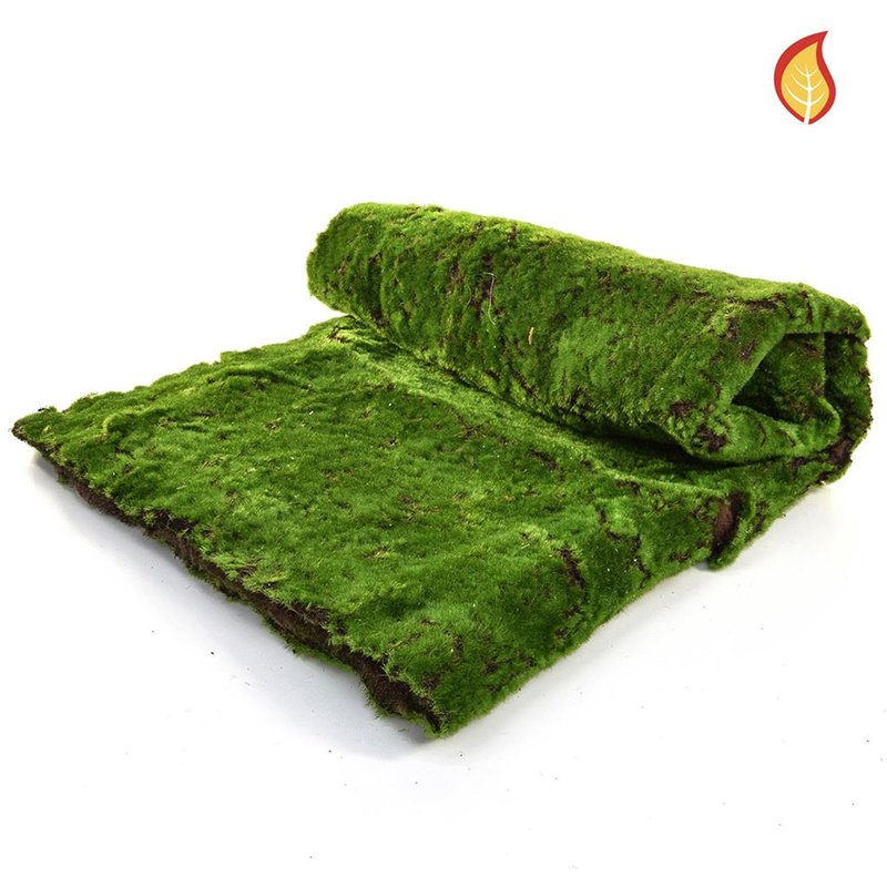 Artificial Topiary Moss Mat 100x200cm (Fire Retardant)/