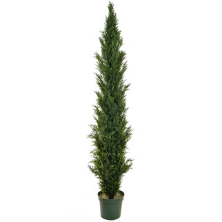 Artificial Topiary Cedar Mini Pine 210cm (UV)