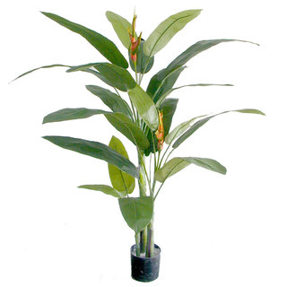 Artificial Heliconia Palm 170cm (Fire Retardant)