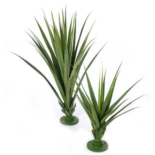 Artificial Pandanus Plant Green 96cm