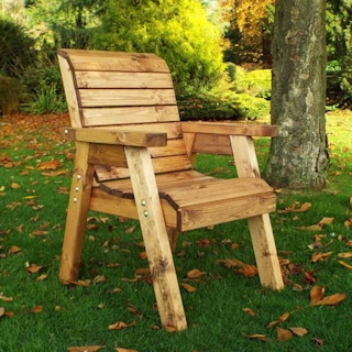 Traditional Wooden Garden Chair