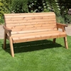 Three Seater Winchester Wooden Garden Bench/