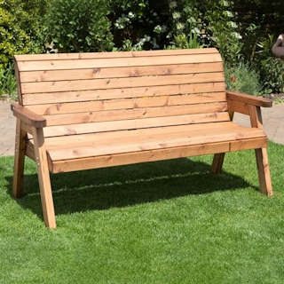 Three Seater Winchester Wooden Garden Bench