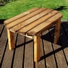 Traditional Rectangular Outdoor Wooden Coffee Table/