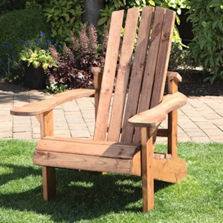 Aidendack Style Wooden Sun Lounger Set