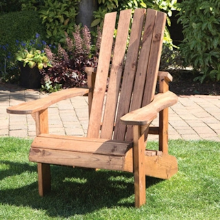 Aidendack Style Wooden Garden Chair