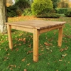 Large Deluxe Outdoor Wooden Coffee Table/