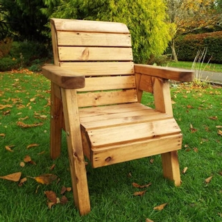 Kids Wooden Garden Chair