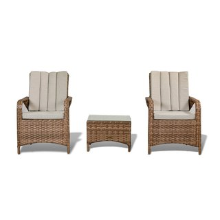 Zoe Bistro Set - Brown