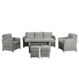Amy Seven Seater Sofa Dining Set