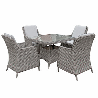 Edwina Square Dining Table 100 x 100cm - Special Grey