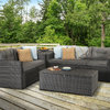 Holly Five Piece Sofa Set - Mixed Grey/