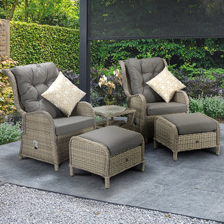 Meghan Five Piece Reclining Lounge Set