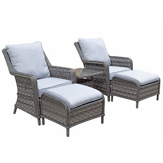 Victoria Five Piece Lounge Set - Grey