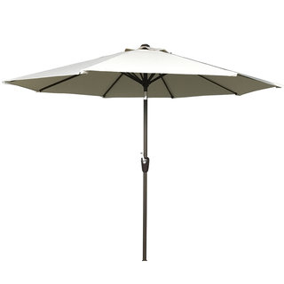 2.5m Table Parasol With Tilt - Beige