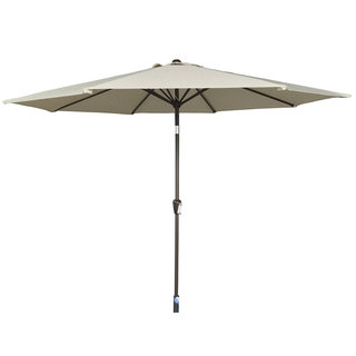 3m Table Parasol With Tilt - Beige