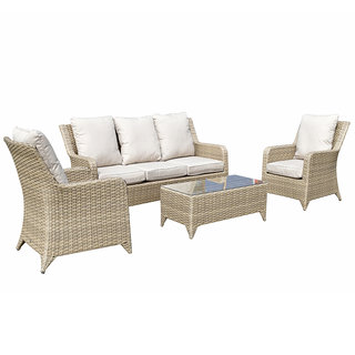 Sarah 5 Seater Sofa Set - Natural / Beige