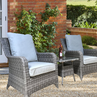 Alexandra 3 Piece Lounge Set - Grey