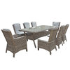 Alexandra Rectangular Dining Table 200 x 100cm/