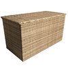 Florence Large Caramel Wicker Cushion Box/