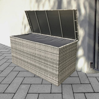 Sarah Large Cushion Box For Dining Cushions - Grey