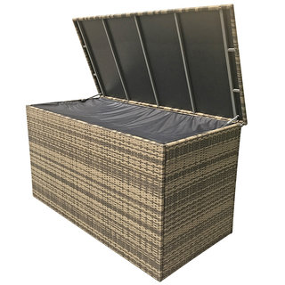 Flat Weave Medium Cushion Box - Brown