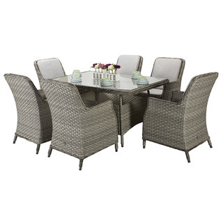 Edwina Rectangle Dining Table 150 x 100cm - Special Grey
