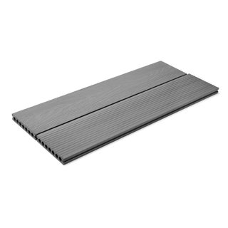Ash Grey Composite Decking Board - 3.6m