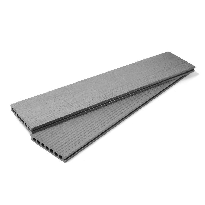 Ash Grey Composite Decking Board - 3.6m/