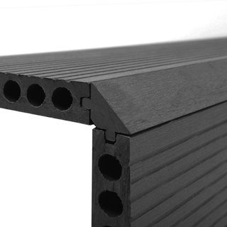 Charcoal Composite Decking Finishing Step Edge - 1.8m